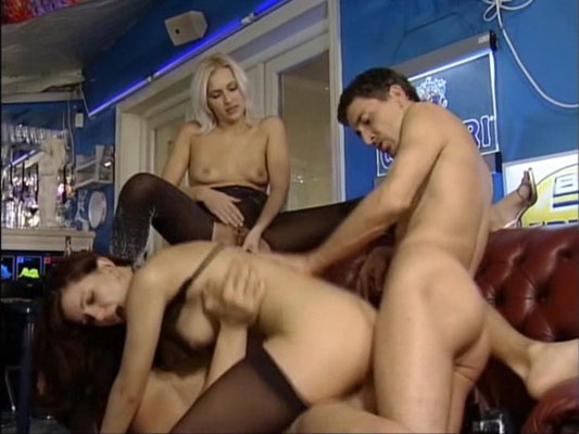 A classic German sex group scene