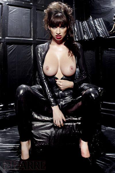 Latex was made for models like Sophie Howard!