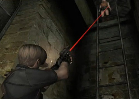 Resident Evil 4 gave us the sexy little Ashley, to look at. Well...kinda...you tried to take a crafty peek...