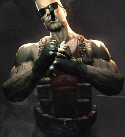 The new Duke Nukem