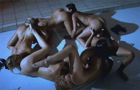 If you love lesbian group sex, you MUST see this in action!
